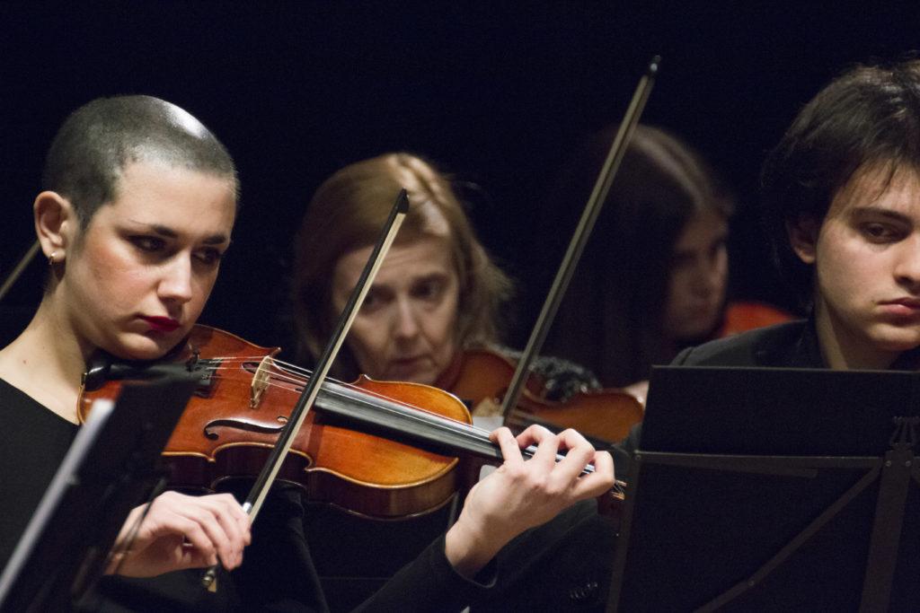 Secondi Violini Giorgia Orchestra Agnesi